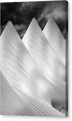 Three Summits Canvas Print by Michiel Hageman