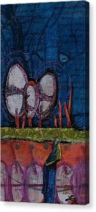 Three Trees Canvas Print by Laura Lein-Svencner