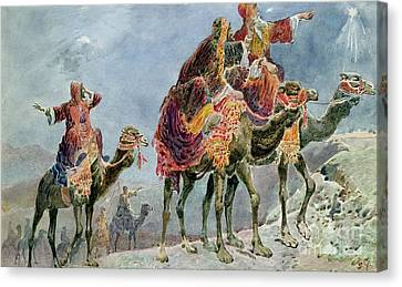 Three Wise Men Canvas Print by Sydney Goodwin