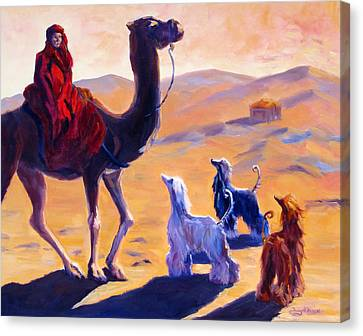 Three Wise Men Canvas Print by Terry  Chacon