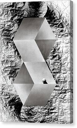 Threshold Canvas Print by David Kleinsasser