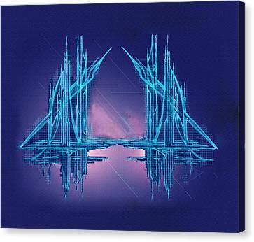 Threshold Canvas Print by Don Quackenbush