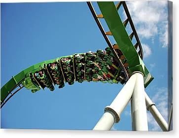 Thrill Ride Canvas Print