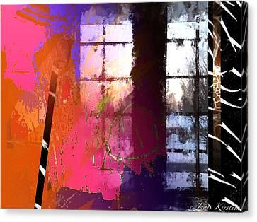 Through A Window 1 Canvas Print by Janis Kirstein