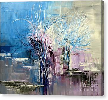 Through Morning's Light Canvas Print