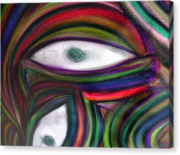 Through Other's Eyes Canvas Print by Dawn Hough Sebaugh