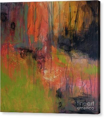 Through The Brush Canvas Print