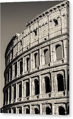 Through The Centuries Canvas Print by Andrea Mazzocchetti
