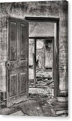 Through The Doors Of Time Canvas Print