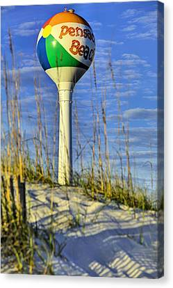 Through The Dunes Of Pensacola Beach Canvas Print by JC Findley