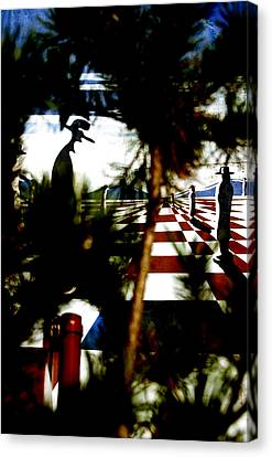 Through The Trees Canvas Print by Jez C Self