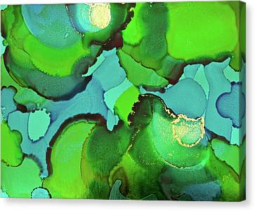 Canvas Print featuring the painting Through The Waters by Michele Myers