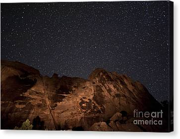 Through Time Canvas Print by Melany Sarafis