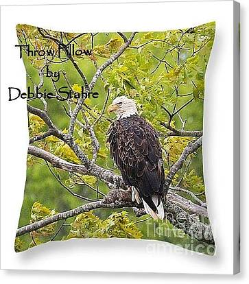 Canvas Print featuring the photograph Throw Pillows by Debbie Stahre