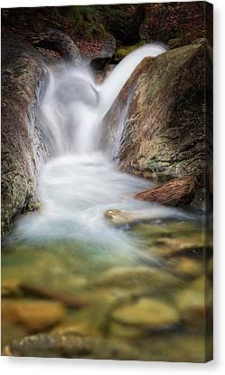 New England Canvas Print - Thru The Rocks by Bill Wakeley
