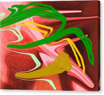 Thrust Canvas Print by Allan  Hughes