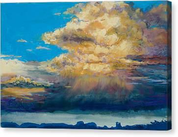 Thundeclouds Canvas Print by Billie Colson
