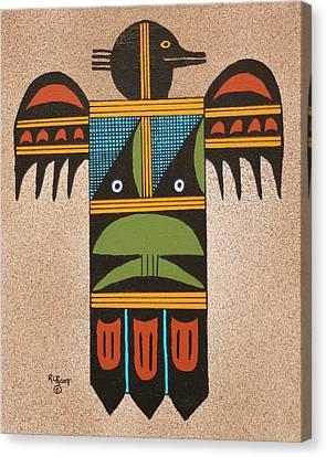Thunder Bird #2 Canvas Print