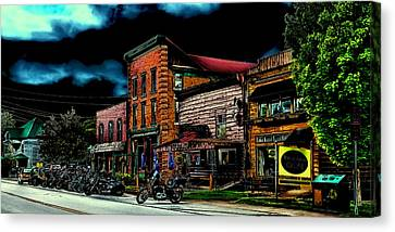 Thunder In Old Forge New York Canvas Print