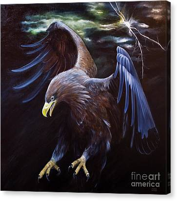 Thunder Canvas Print by Julie Bond