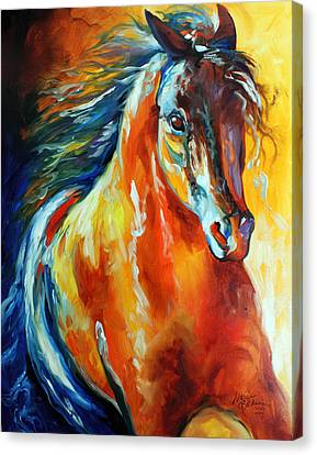 Thunder Magic Canvas Print by Marcia Baldwin