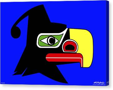 Thunderbird Canvas Print by Asbjorn Lonvig