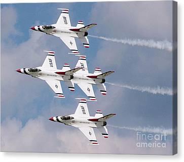 Thunderbird Diamond Formation Canvas Print