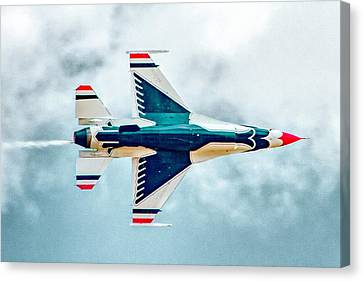 Canvas Print - Thunderbird Underbelly by Bill Gallagher