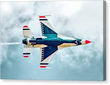 Thunderbird Underbelly Canvas Print by Bill Gallagher