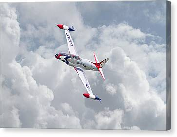 Thunderbirds - T33 Canvas Print by Pat Speirs