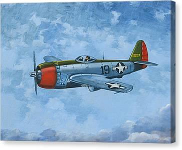 Thunderbolt Canvas Print by Murray McLeod