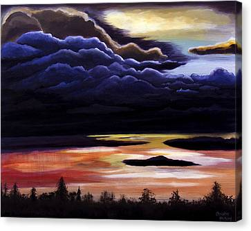 Thunderhead Canvas Print by Christie Nicklay