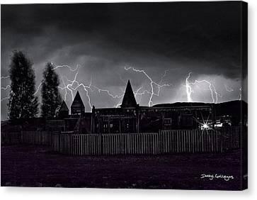 Thunderhead Canvas Print by Darryl Gallegos