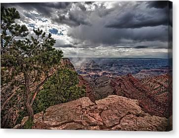 Thunderstorm - Grand Canyon Canvas Print