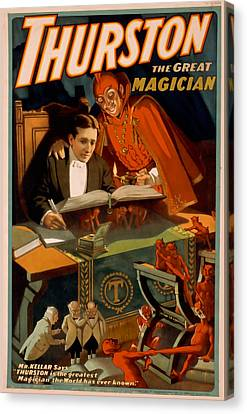 Thurston The Great Magician 2 Canvas Print
