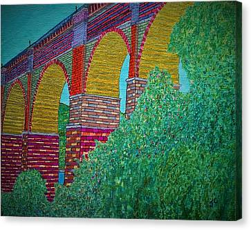 The Highbridge Reimagined Canvas Print by John Cunnane