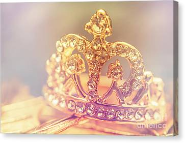 Tiara Crown With Diamonds Canvas Print by Jorgo Photography - Wall Art Gallery