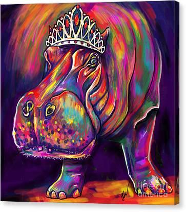 Tiara Canvas Print by Julianne Black