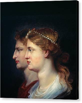Tiberius & Agrippina Canvas Print