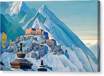 Tibet, Himalayas Canvas Print by Nicholas Roerich