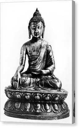 Tibetan Buddha Canvas Print by Granger