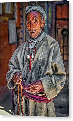 Tibetan Refugee Canvas Print by Steve Harrington