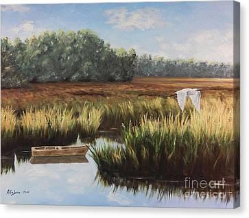 Canvas Print - Tidal Creek by Stanton Allaben