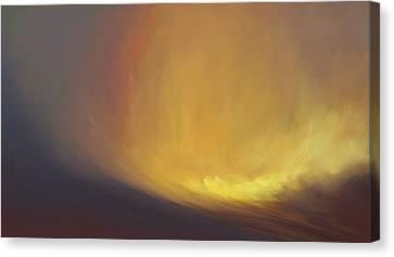 Tidal Haze Canvas Print by Lonnie Christopher
