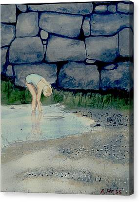 Tidal Pool Treasures Canvas Print