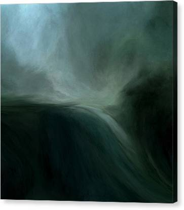 Tidal Wave Canvas Print by Lonnie Christopher