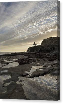 Tide-pool Sunset Canvas Print by Bruce Frye