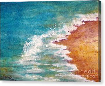 Tide Rushing In Canvas Print