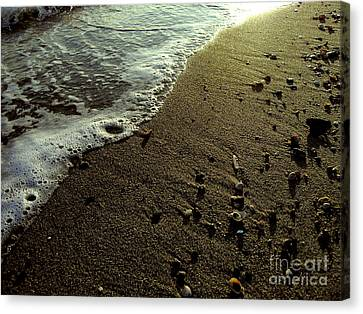 Tide Canvas Print by Silvie Kendall