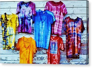 Grateful Dead Tie Dye Canvas Print